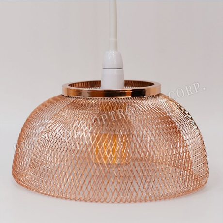7W LED Mosquito Repellent Light with Bowl Shape Metal Mesh