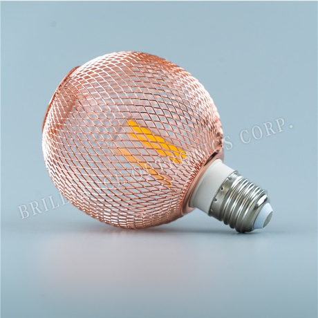 LED Mosquito Repellent Bulb Lights with small ball shape Metal Mesh